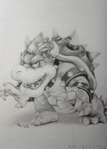 dibujos de bowser junior