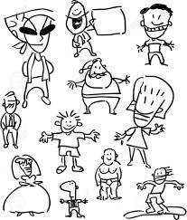 personajes dibujos animados
